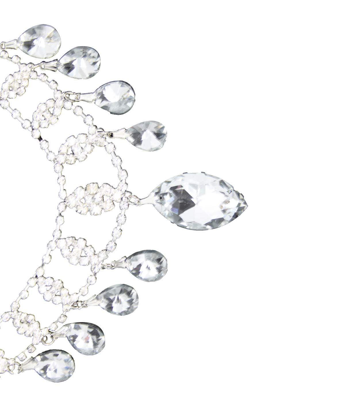 True-Face-Ladies-Women-039-s-Elegant-Earrings-Necklace-Set-Metal-Alloy-Jewellery thumbnail 7