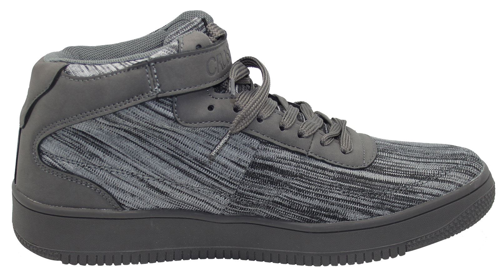 Mens-New-Crosshatch-Fleetfoot-Trainers-Hi-Top-Ankle-Boots-Lace-up-Comfy-Shoes thumbnail 37