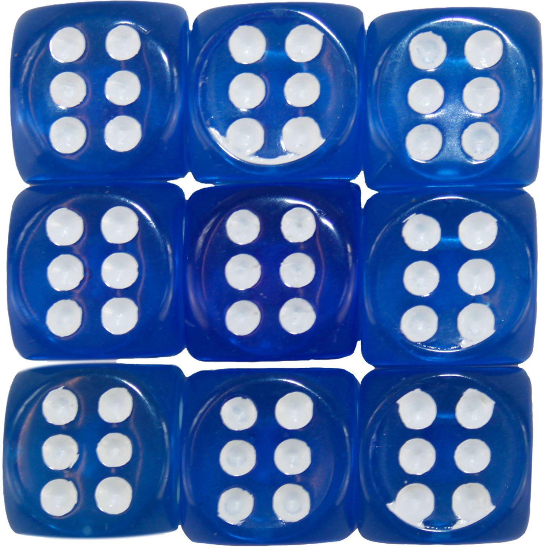Nouveau-opaque-10-14-16mm-six-sided-spot-dice-D6-rpg-pour-ludo-monopoly-board-games miniature 6