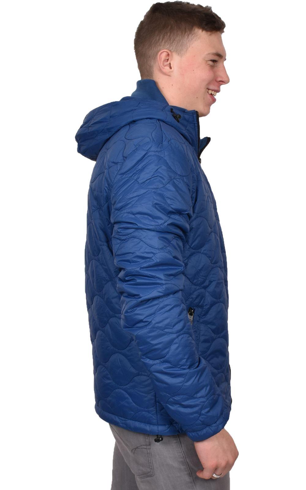 Mens-Smith-amp-Jones-Jacket-Full-Zip-Fleece-Lined-Hooded-Light-Weight-Warm-Coat thumbnail 9