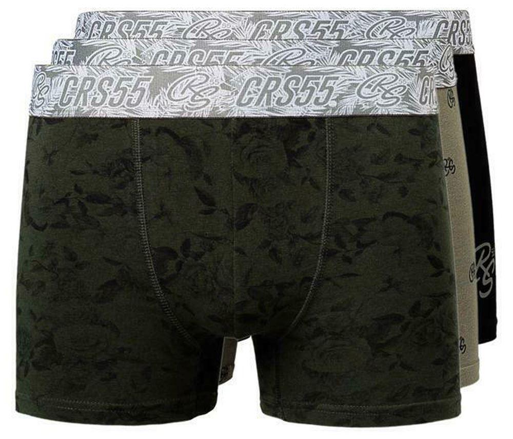thumbnail 21 - Mens Crosshatch Boxers 3 Pack Shorts Underwear Underpants Trunks Multipack Sets