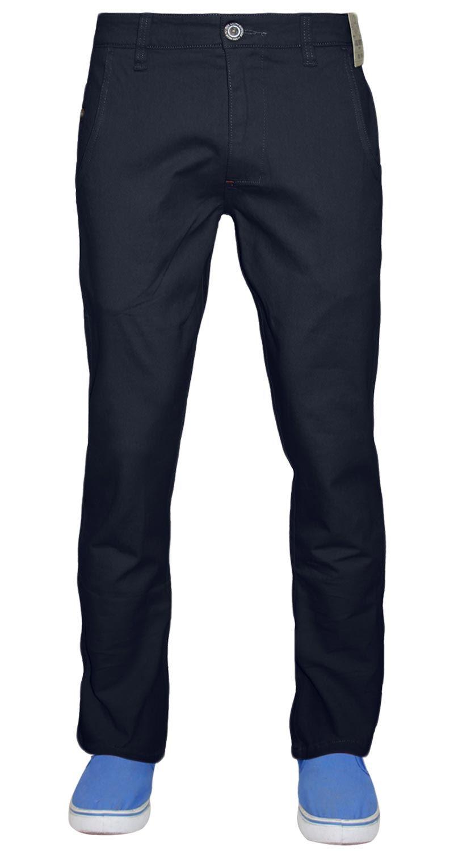 Jeans-da-Uomo-Chino-Stretch-Regular-Fit-Cotone-Rich-Pants-Pantaloni-Jacksouth-Chinos miniatura 9