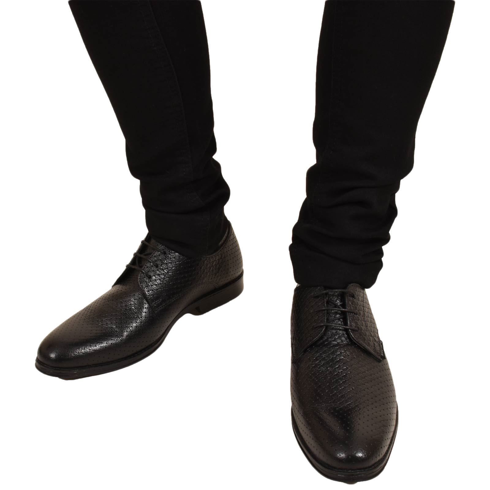 Mens-UK-Style-Leather-Lining-Formal-Office-Wedding-Smart-Work-Brogue-Shoes thumbnail 30