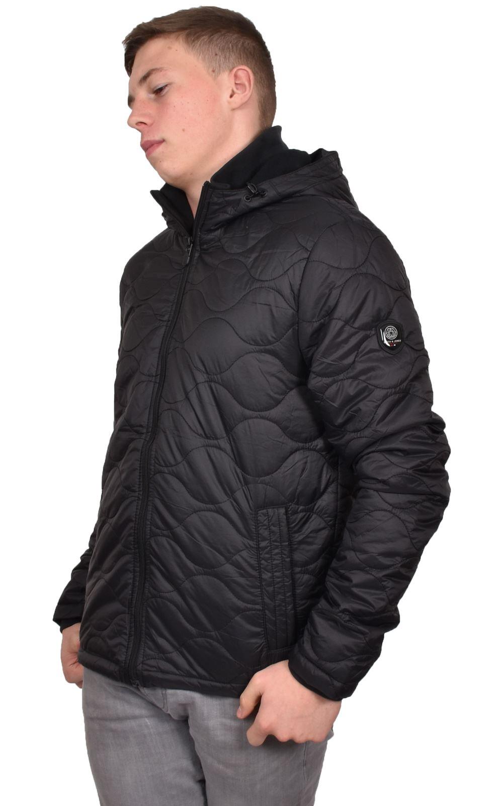 Mens-Smith-amp-Jones-Jacket-Full-Zip-Fleece-Lined-Hooded-Light-Weight-Warm-Coat thumbnail 3