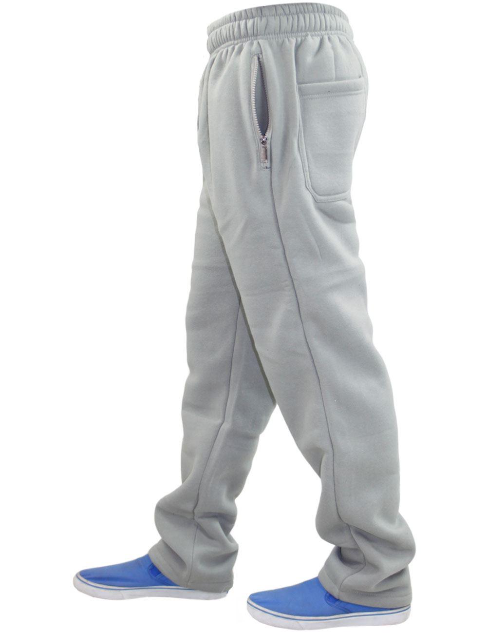 Mens-Women-Plain-Fleece-Joggers-Bottoms-Jogging-Pant-Gym-Fitness-Sports-Trousers thumbnail 33
