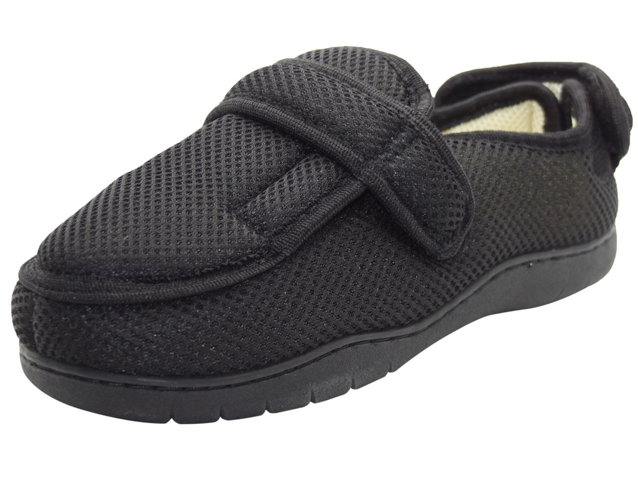 b6bada9e1e True Face Men Ladies Diabetic Slippers Orthopedic Memory Foam Wide Fitting  Shoes