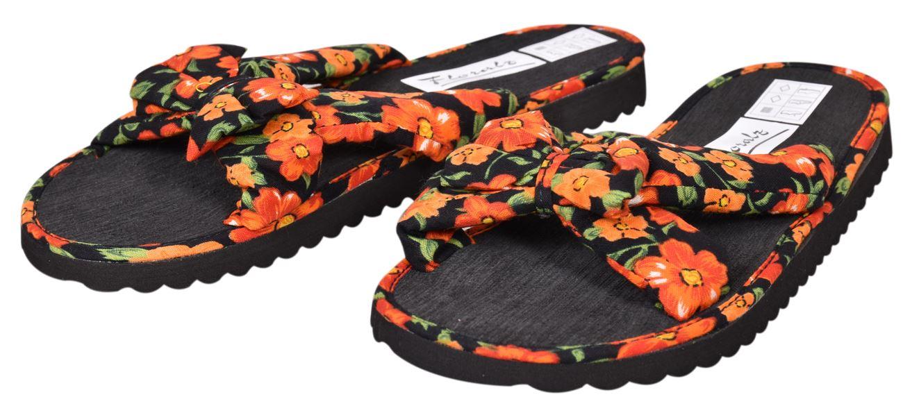 Ladies-Mule-Hawaiian-Floral-Womens-Beach-Slipper-Slip-on-Shoes thumbnail 29