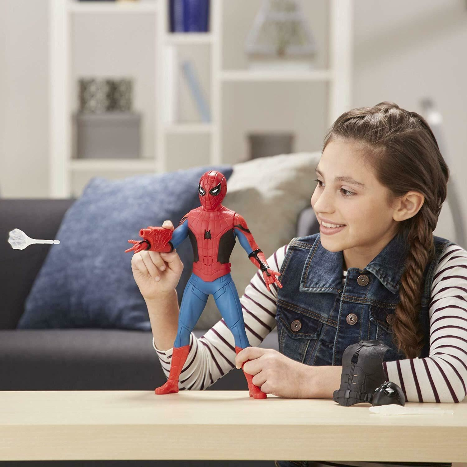 Marvel-Spider-Man-3-in-1-Far-From-Home-Web-Gear-Action-Figure-Toy-2019-Xmas-Gift thumbnail 6