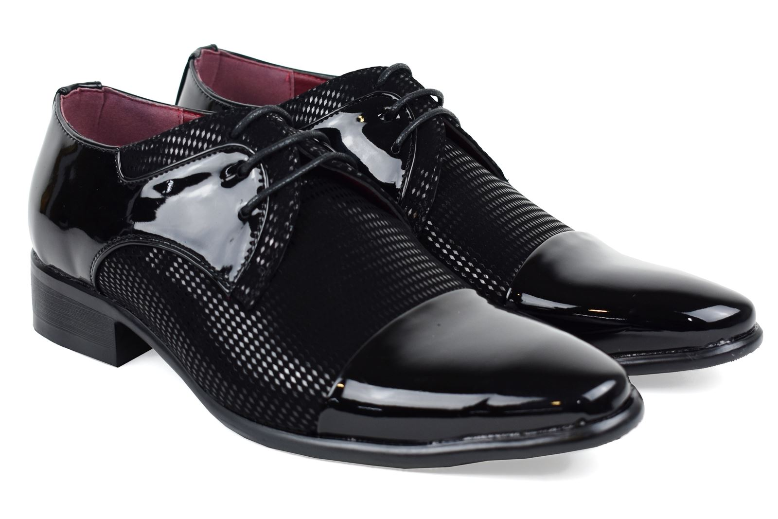 Mens-UK-Style-Leather-Lining-Formal-Office-Wedding-Smart-Work-Brogue-Shoes thumbnail 74