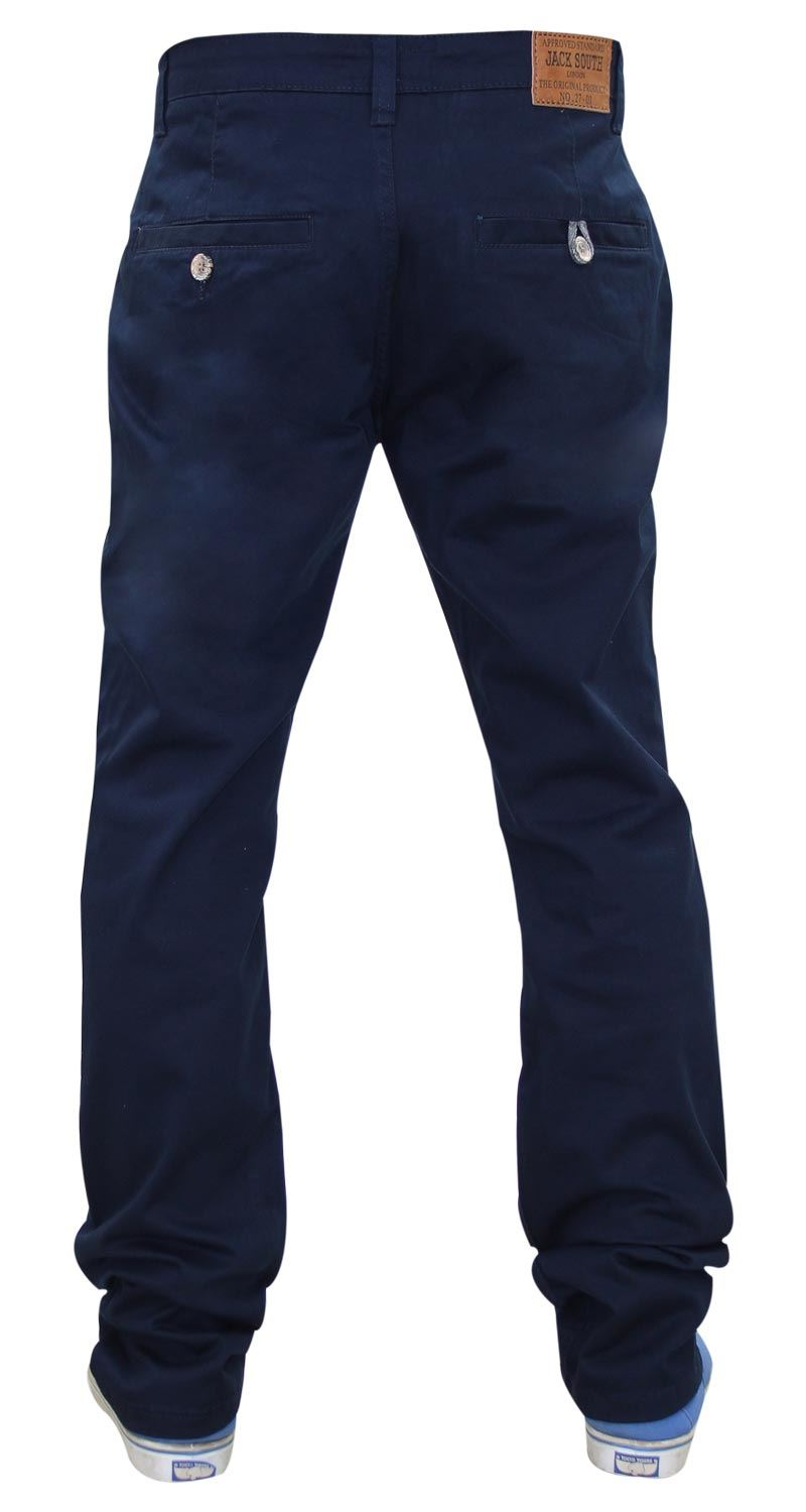 Jacksouth-Mens-Chinos-Trousers-Regular-Fit-Stretch-Cotton-Rich-Twill-Jeans-Pants thumbnail 22