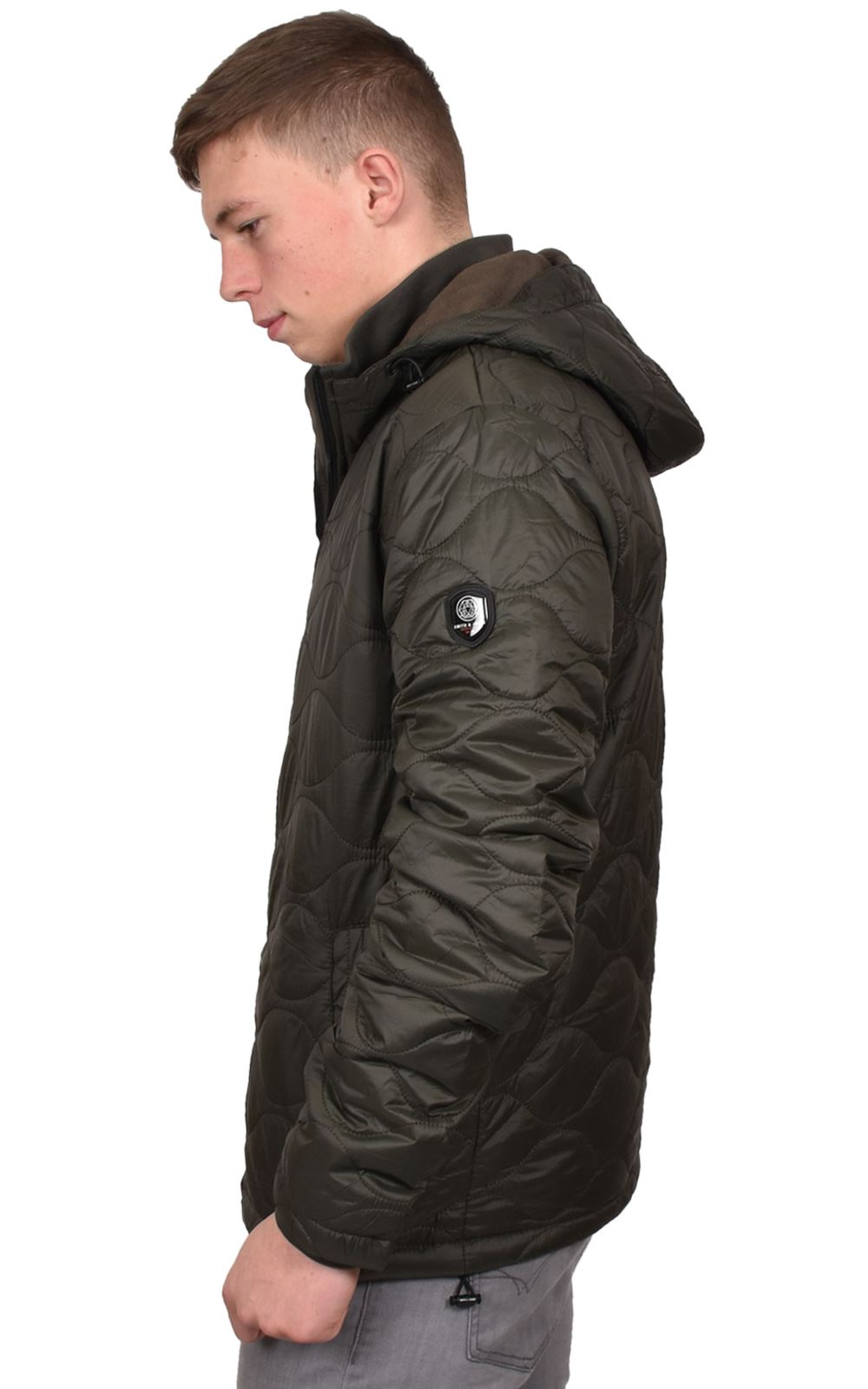 Mens-Smith-amp-Jones-Jacket-Full-Zip-Fleece-Lined-Hooded-Light-Weight-Warm-Coat thumbnail 16