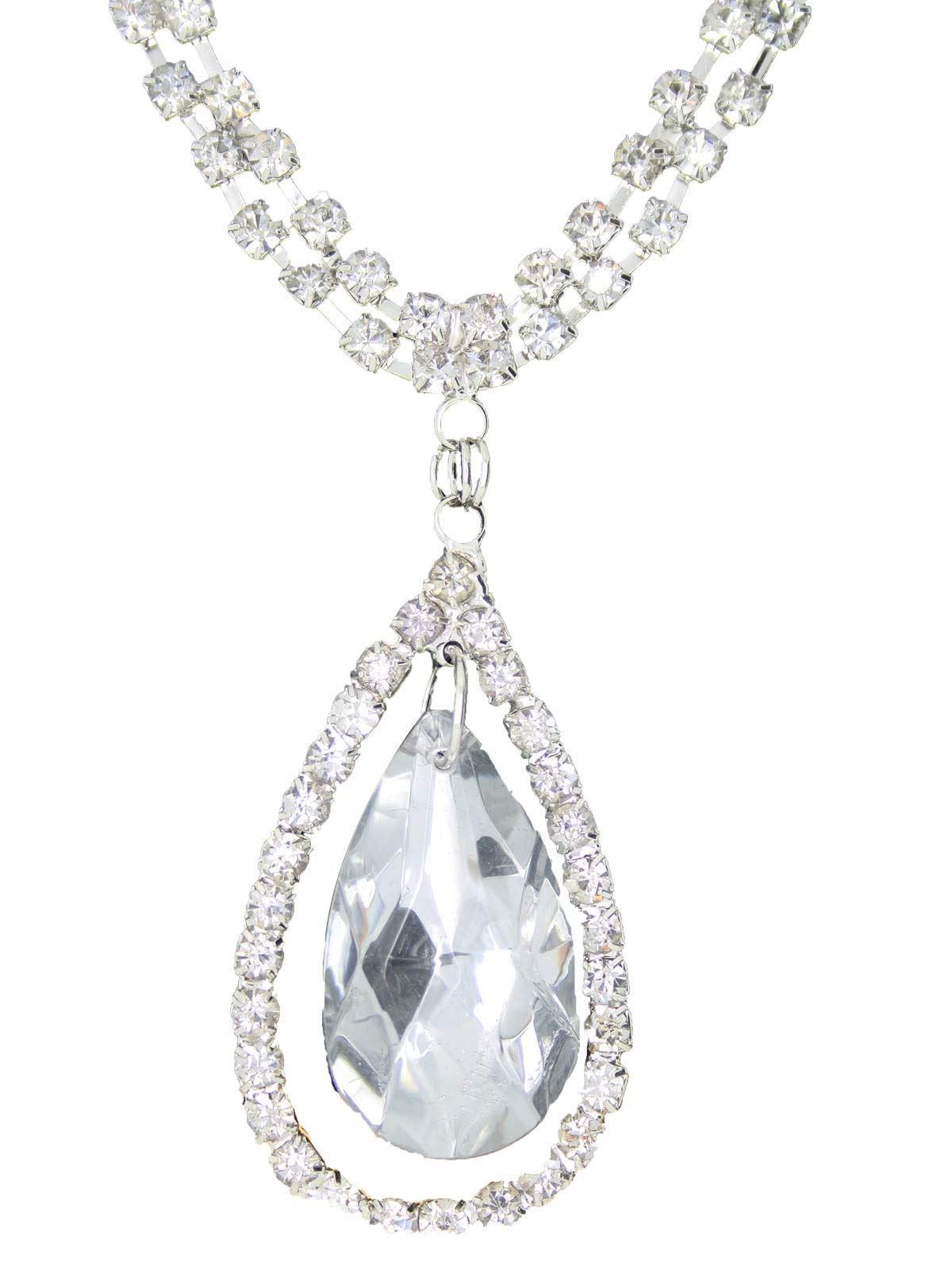 True-Face-Ladies-Women-039-s-Elegant-Earrings-Necklace-Set-Metal-Alloy-Jewellery thumbnail 48