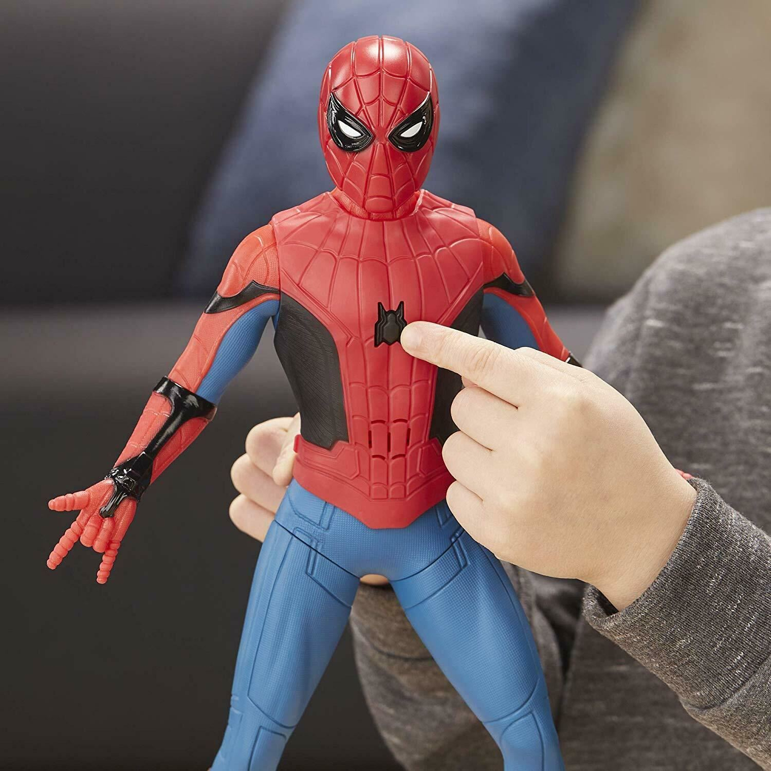 Marvel-Spider-Man-3-in-1-Far-From-Home-Web-Gear-Action-Figure-Toy-2019-Xmas-Gift thumbnail 3