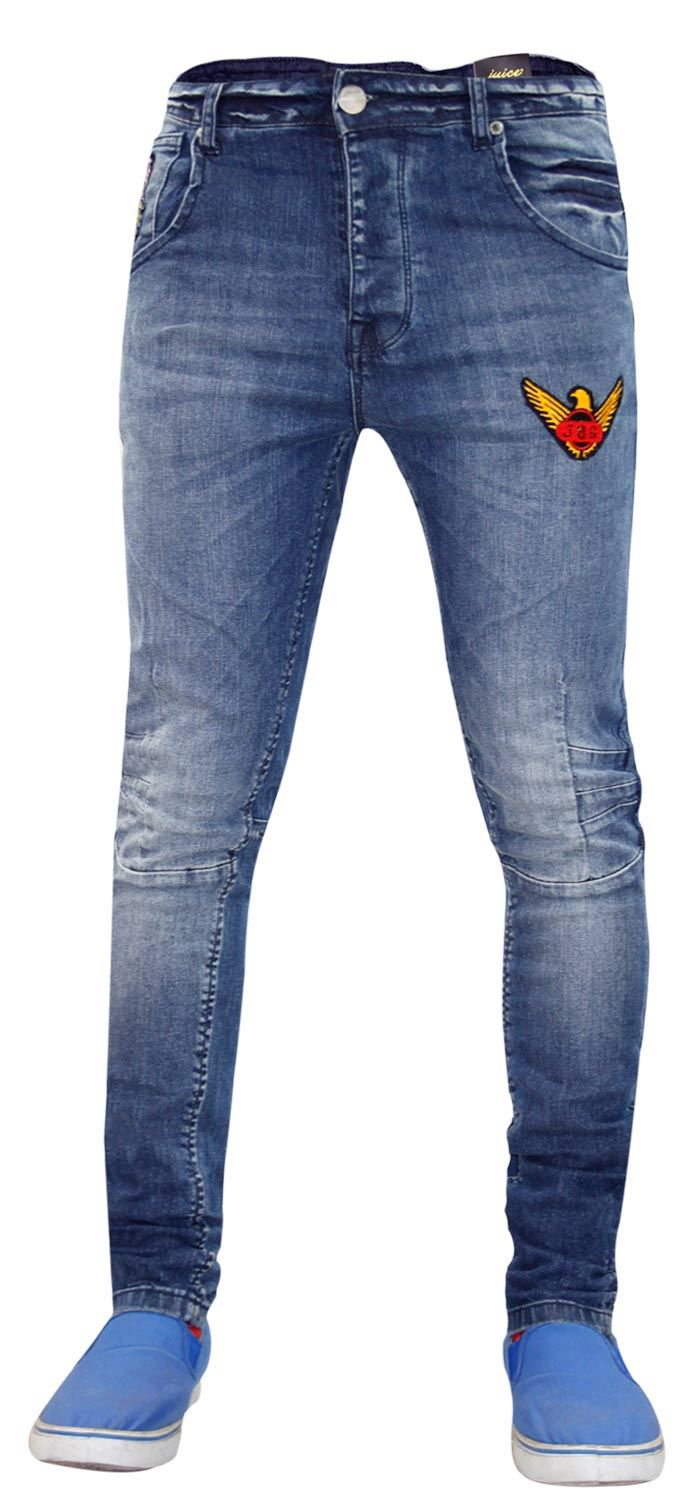 New-Mens-Skinny-Jeans-Stretch-Slim-Fit-Denim-Pants-Trousers-Bottoms-Sizes-28-40 thumbnail 6