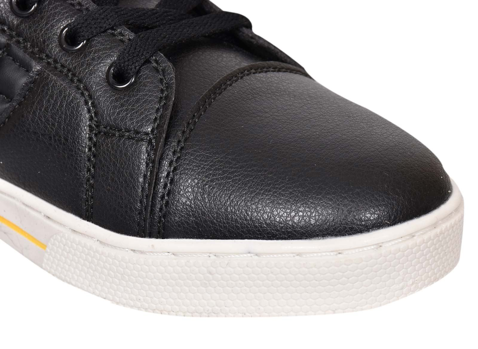 Mens-Trainers-Lace-up-Crosshatch-High-Tops-Ankle-Padded-Shoes-New-UK-Sizes-7-12 thumbnail 9