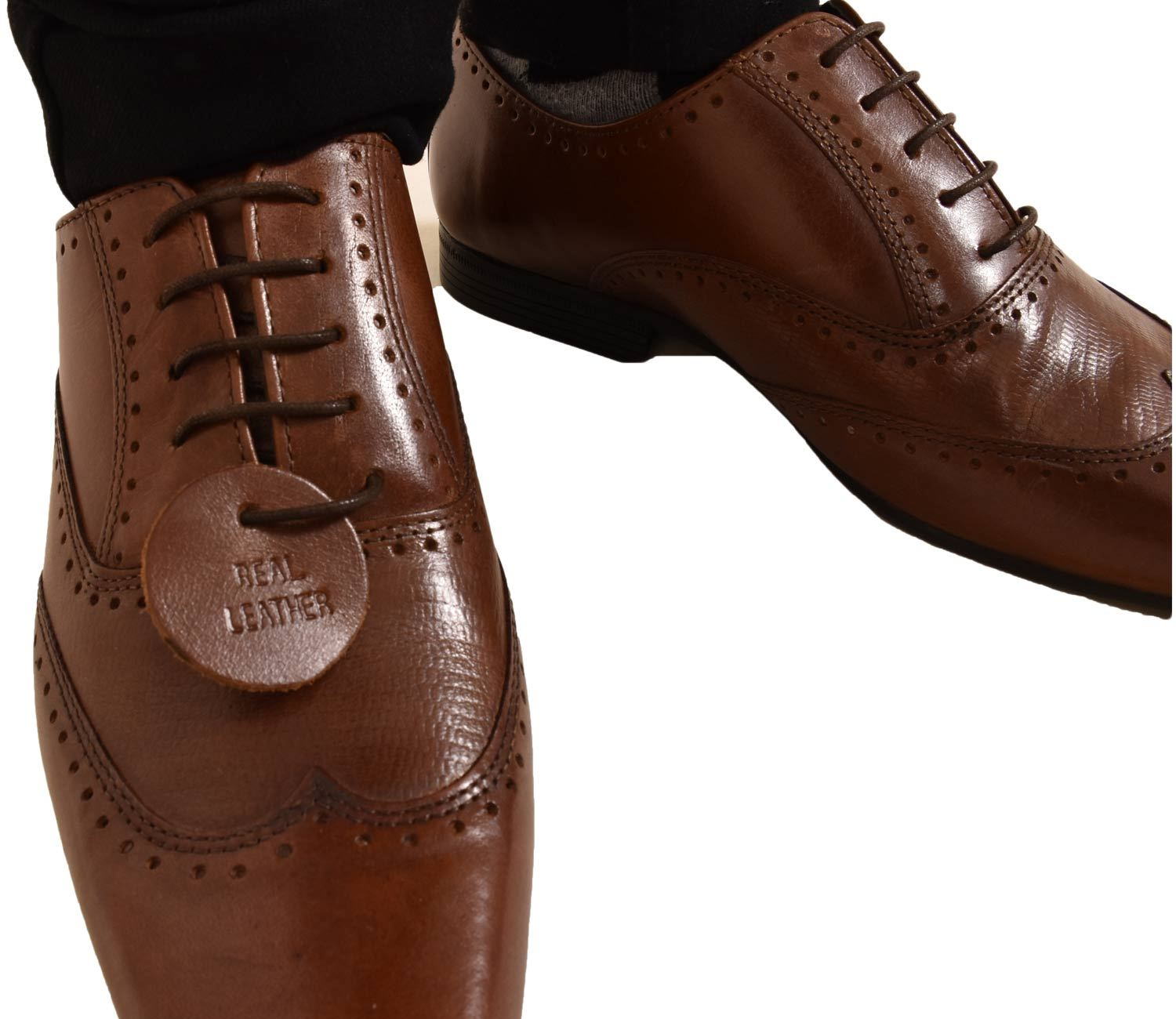 Mens-UK-Style-Leather-Lining-Formal-Office-Wedding-Smart-Work-Brogue-Shoes thumbnail 40