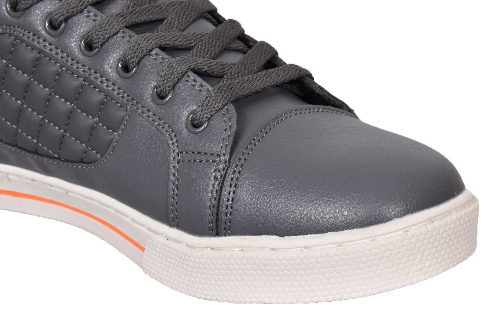 Mens-Trainers-Lace-up-Crosshatch-High-Tops-Ankle-Padded-Shoes-New-UK-Sizes-7-12 thumbnail 16