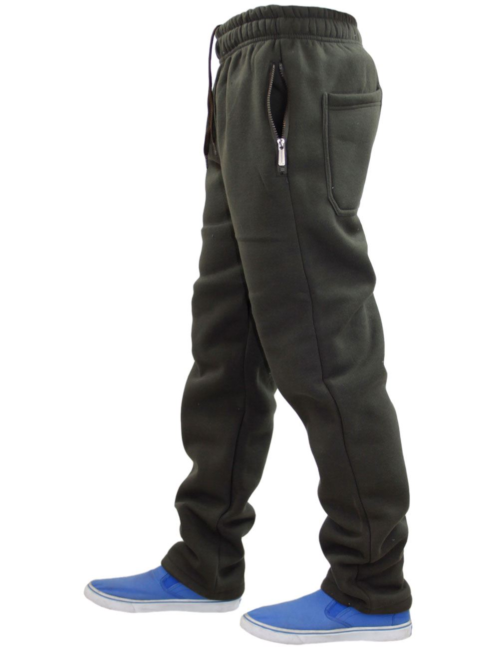 Mens-Women-Plain-Fleece-Joggers-Bottoms-Jogging-Pant-Gym-Fitness-Sports-Trousers thumbnail 8