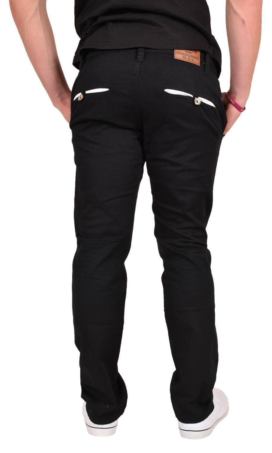 New-Mens-Designer-Jacksouth-Chino-Regular-Fit-Stretch-Cotton-Rich-Twill-Trousers thumbnail 19