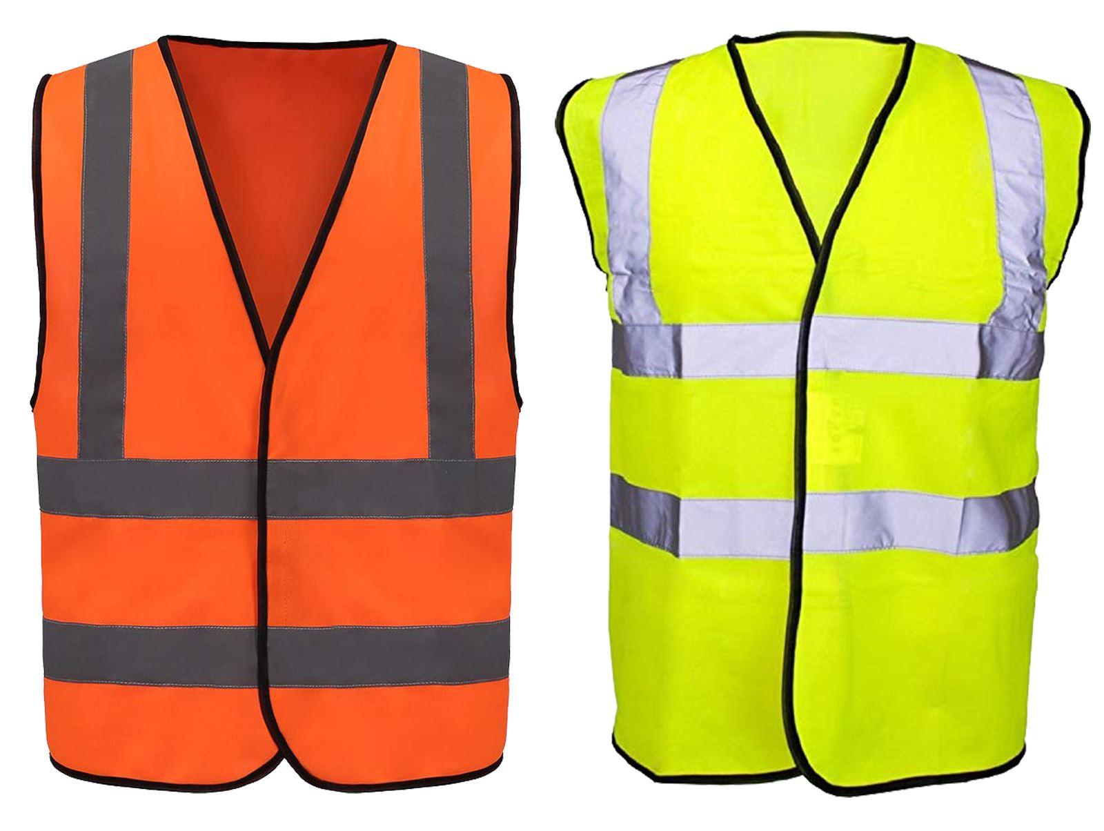 giallo Gilet di sicurezza per bambini ad alta visibilit/à catarifrangente