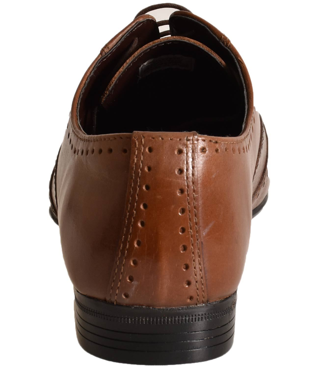 Mens-UK-Style-Leather-Lining-Formal-Office-Wedding-Smart-Work-Brogue-Shoes thumbnail 37