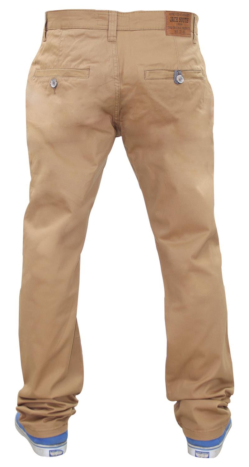 Jacksouth-Mens-Chinos-Trousers-Regular-Fit-Stretch-Cotton-Rich-Twill-Jeans-Pants thumbnail 26