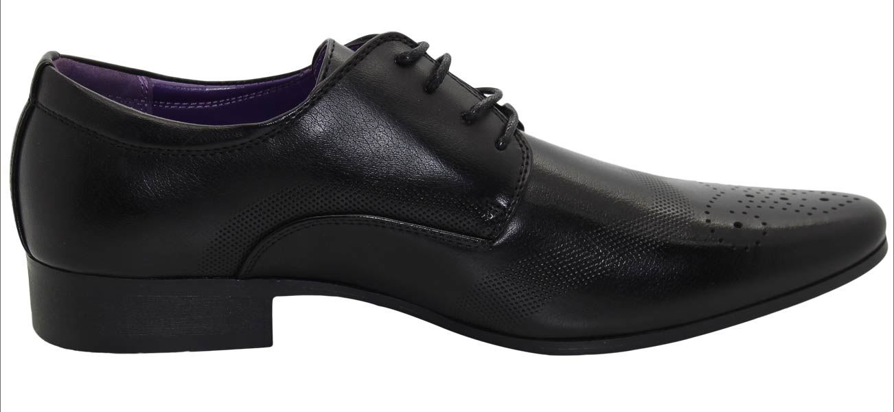 Mens-UK-Style-Leather-Lining-Formal-Office-Wedding-Smart-Work-Brogue-Shoes thumbnail 3