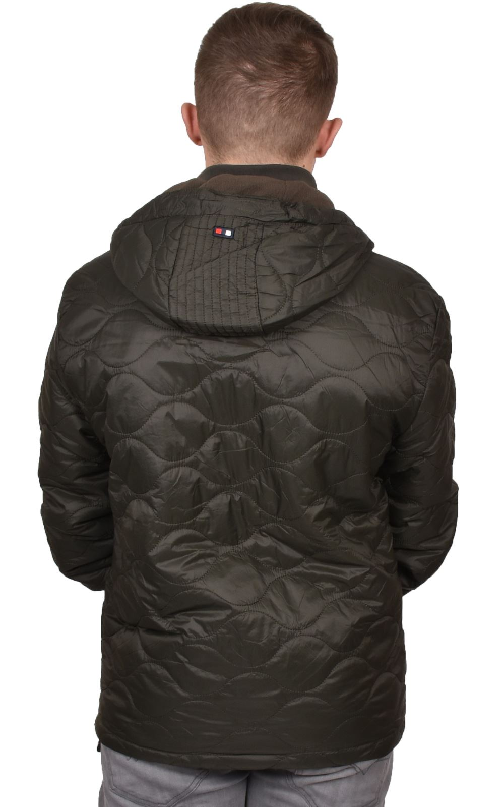 Mens-Smith-amp-Jones-Jacket-Full-Zip-Fleece-Lined-Hooded-Light-Weight-Warm-Coat thumbnail 17