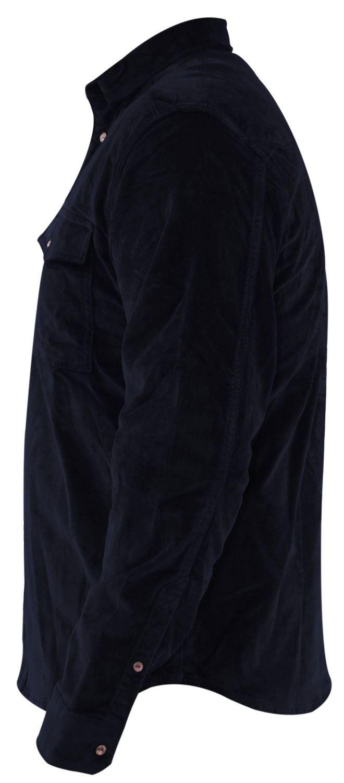 Mens-Corduroy-Cotton-Shirt-Long-Sleeve-Casual-Shirts-Jacksouth-Jacket-Top-S-2XL thumbnail 13