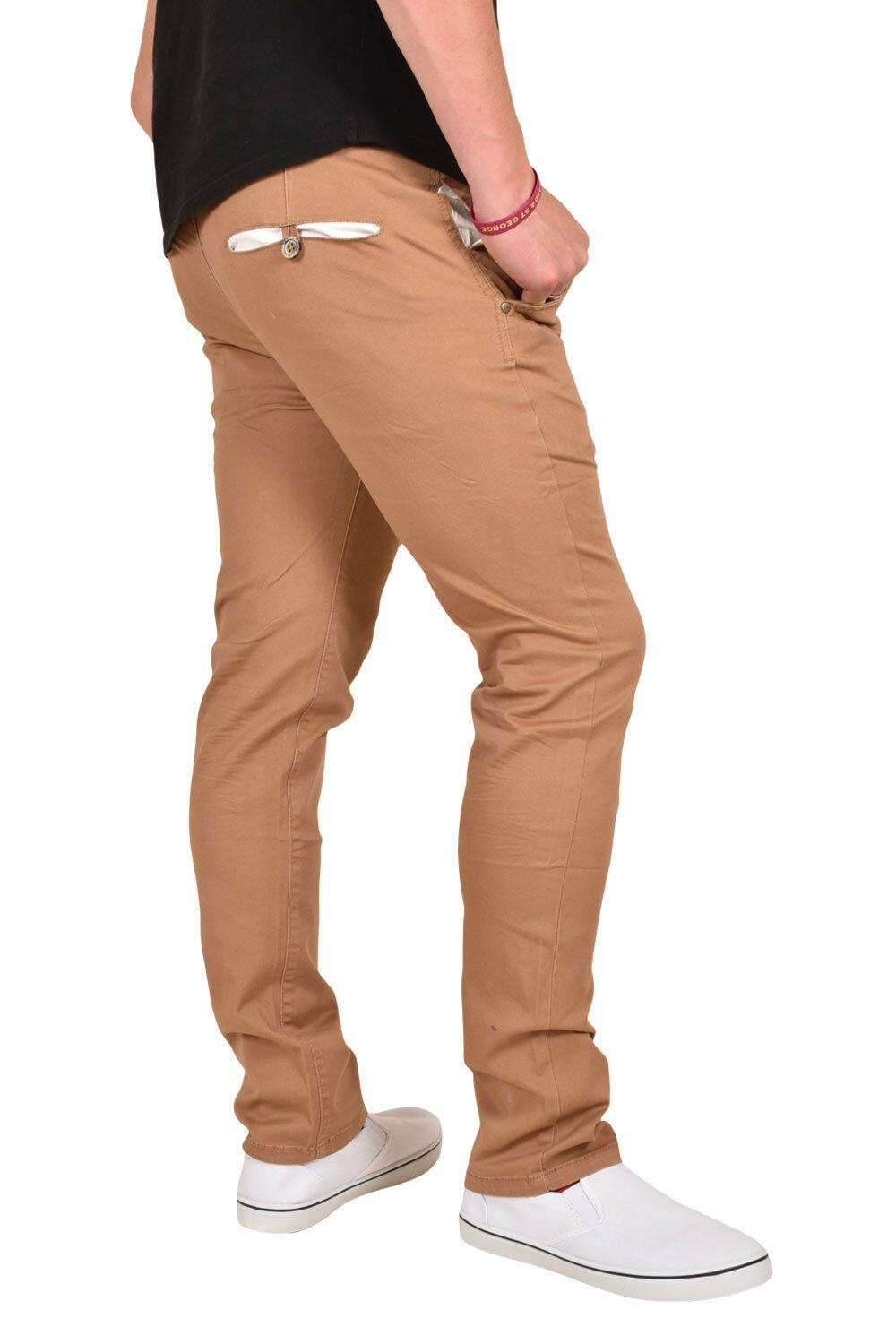New-Mens-Designer-Jacksouth-Chino-Regular-Fit-Stretch-Cotton-Rich-Twill-Trousers thumbnail 38