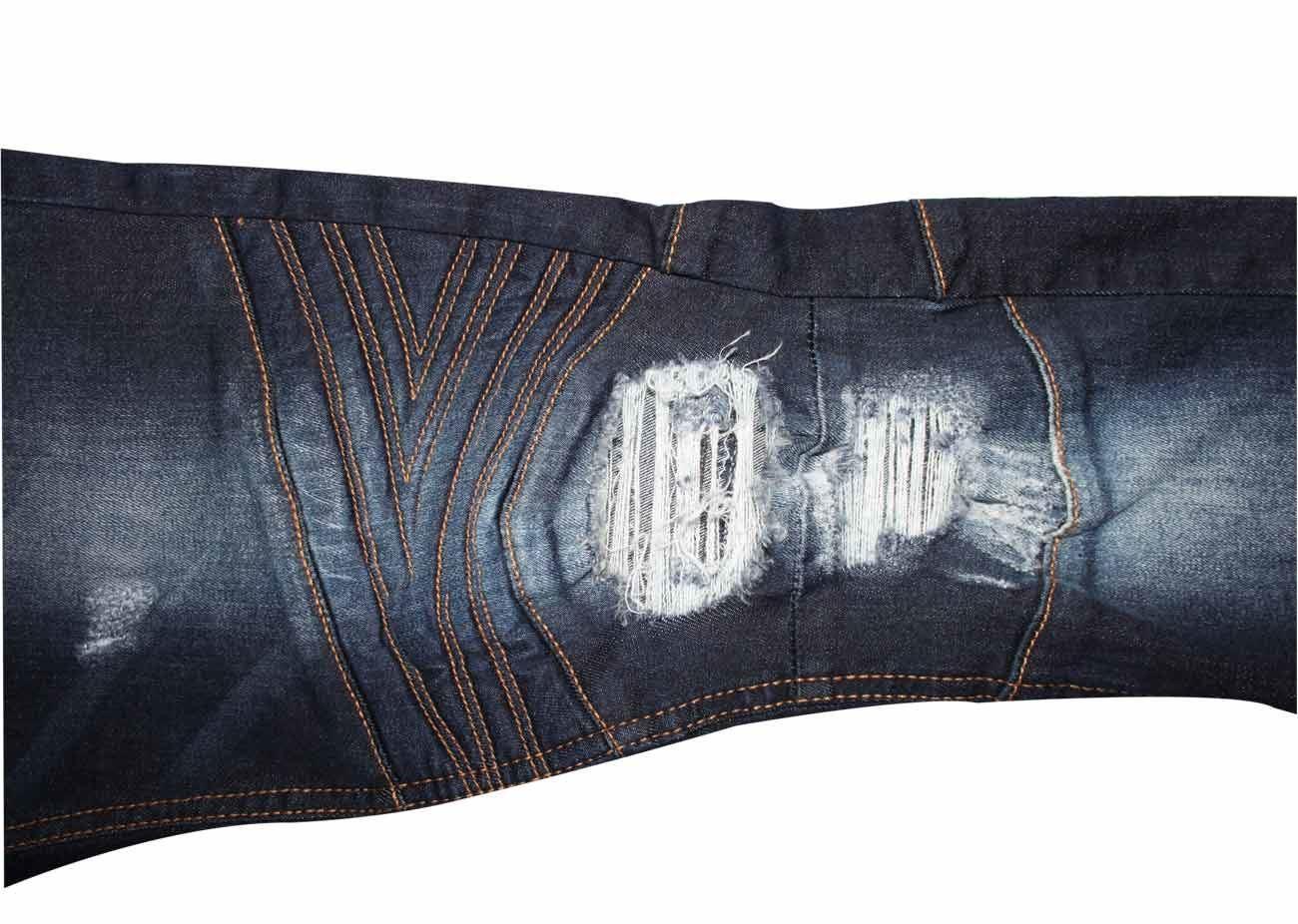 Para-Hombre-Biker-Skinny-Jeans-lealtad-amp-Faith-Slim-Fit-Pantalones-Ajustados-Pantalones-rasgada miniatura 20