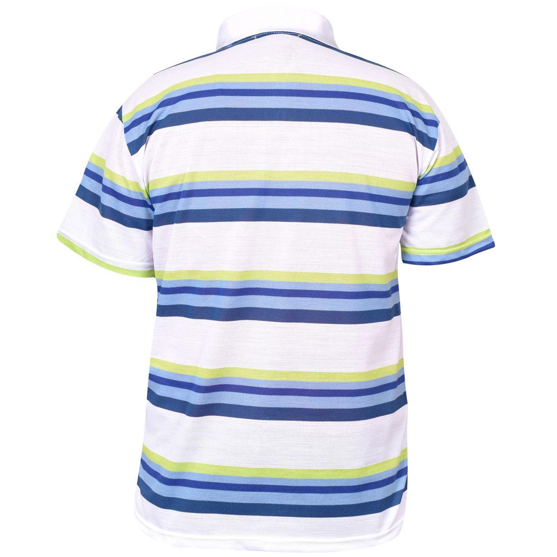 Mens-T-Shirts-Yarn-Dyed-Strip-Pocket-Polo-Shirt-Top-Multi-Colour-Size-M-3XL thumbnail 56
