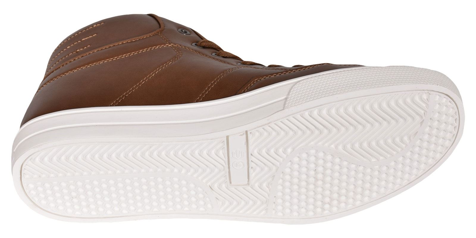 Crosshatch-Para-hombre-Tobillo-Alto-Zapatillas-Sneaker-Con-Cordones-Tapas-Planas-Botas-UK-Tamanos-7 miniatura 32