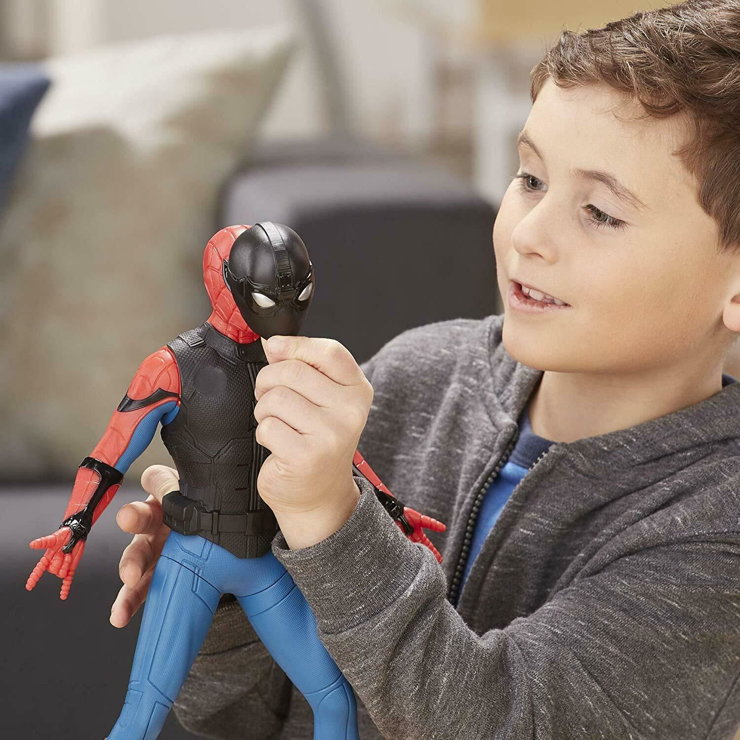 Marvel-Spider-Man-3-in-1-Far-From-Home-Web-Gear-Action-Figure-Toy-2019-Xmas-Gift thumbnail 4