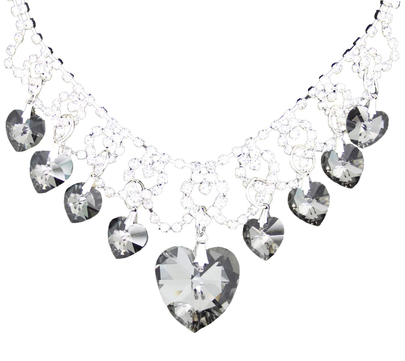True-Face-Ladies-Women-039-s-Elegant-Earrings-Necklace-Set-Metal-Alloy-Jewellery thumbnail 22