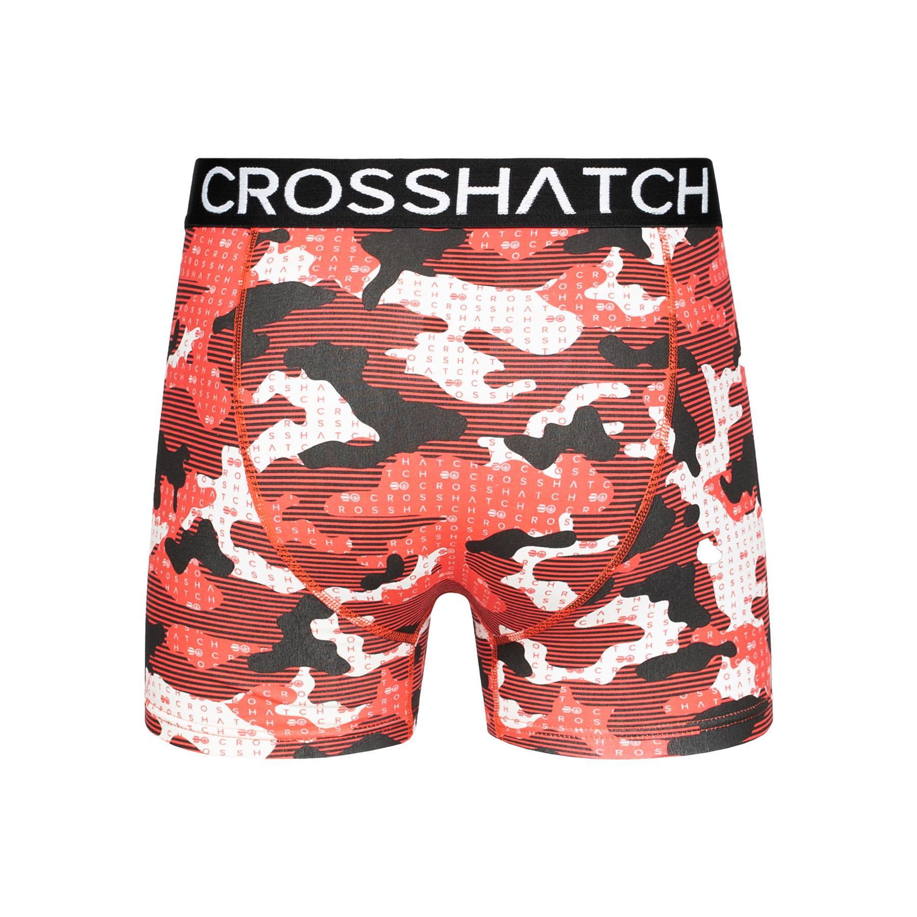 thumbnail 58 - Mens Crosshatch Boxers 3 Pack Shorts Underwear Trunks Underpants Multipack Sets