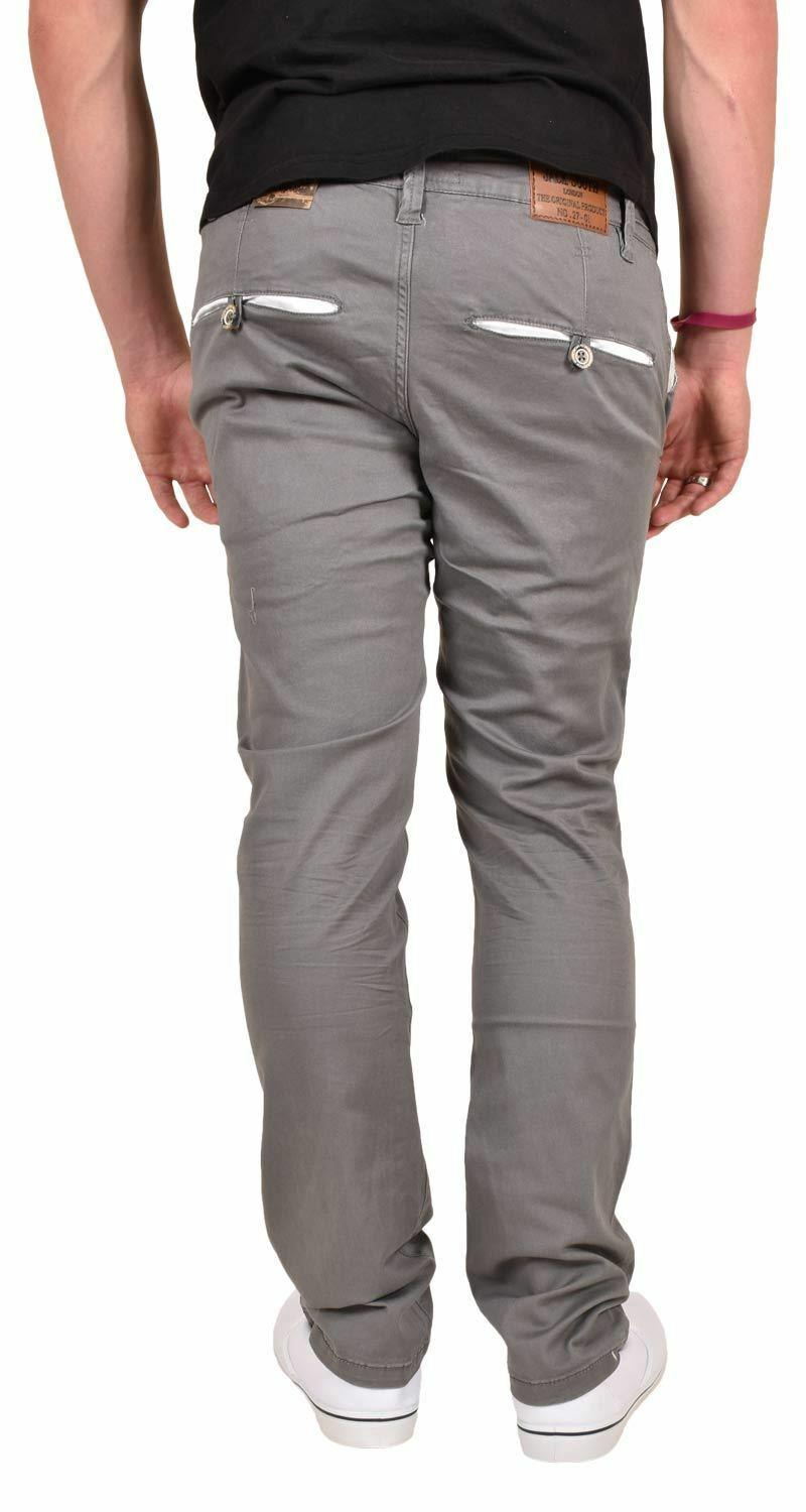 New-Mens-Designer-Jacksouth-Chino-Regular-Fit-Stretch-Cotton-Rich-Twill-Trousers thumbnail 9