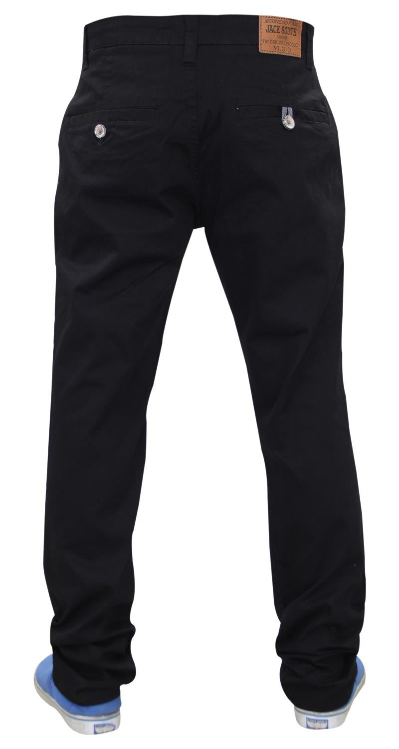 Jacksouth-Mens-Chinos-Trousers-Regular-Fit-Stretch-Cotton-Rich-Twill-Jeans-Pants thumbnail 18