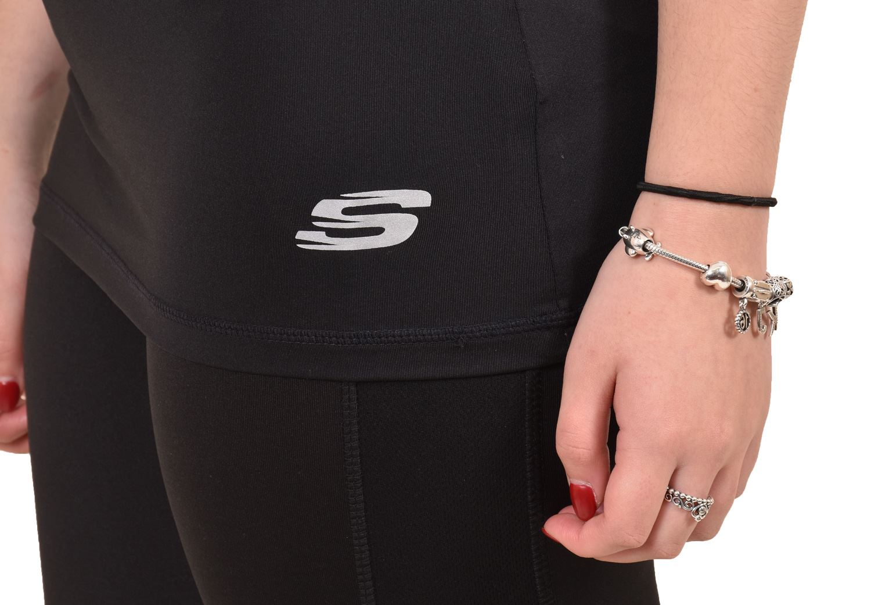 Camiseta-para-mujer-Skechers-Secado-Rapido-Top-senoras-de-Deportes-Activewear-Gimnasio-Fitness-Dance miniatura 6