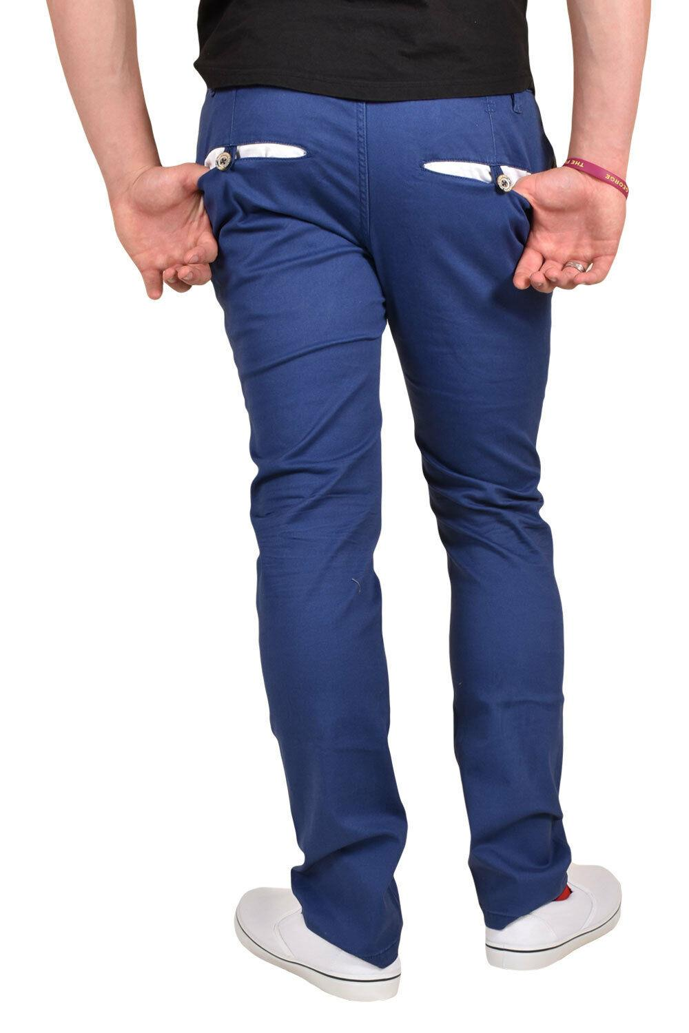 New-Mens-Designer-Jacksouth-Chino-Regular-Fit-Stretch-Cotton-Rich-Twill-Trousers thumbnail 5