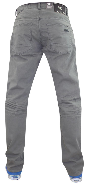 Crosshatch-Hombre-Denim-Jeans-Corte-Recto-Pantalones-Pantalones-todos-los-tamanos-de-la-cintura miniatura 4
