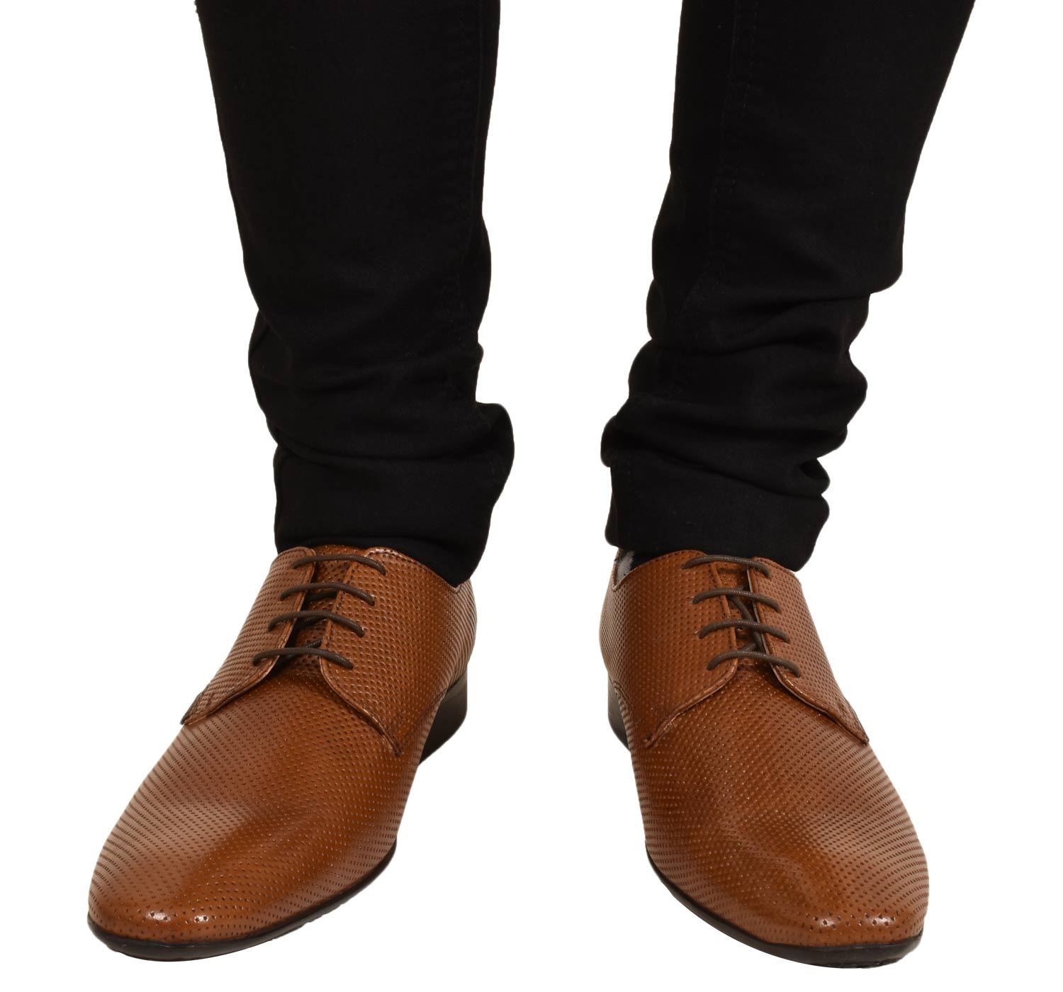 Mens-UK-Style-Leather-Lining-Formal-Office-Wedding-Smart-Work-Brogue-Shoes thumbnail 15