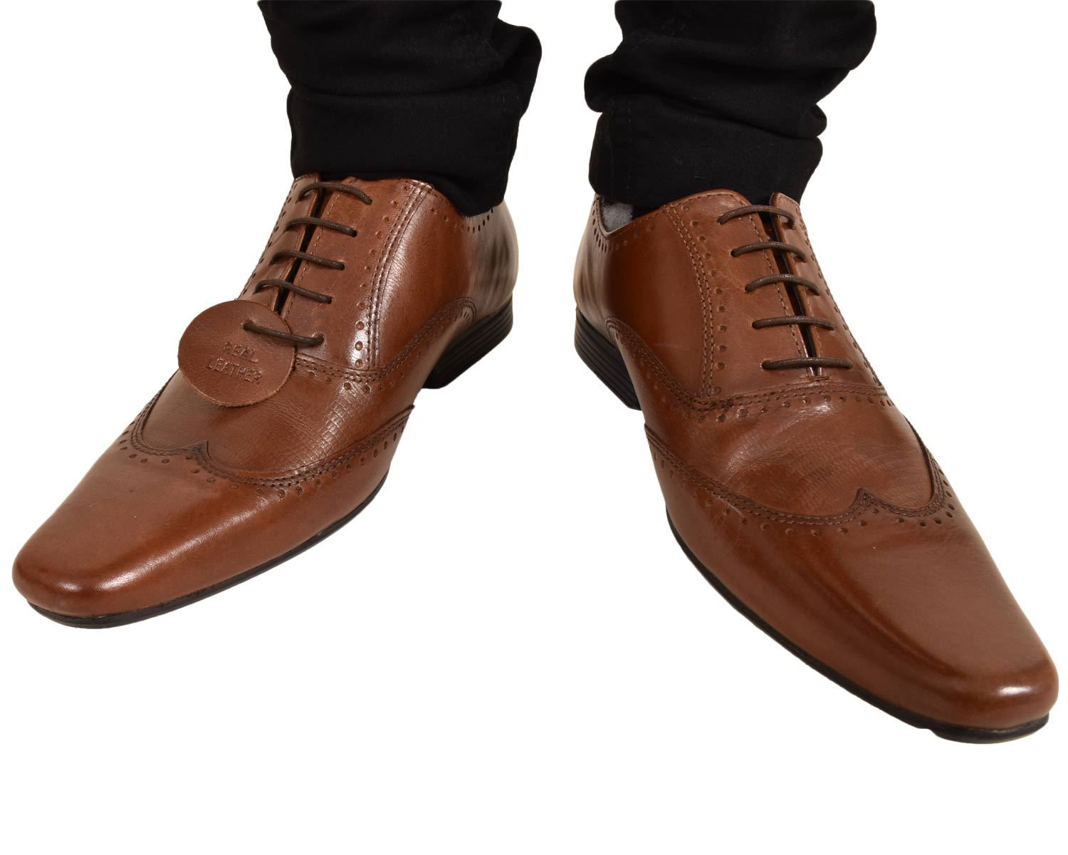 Mens-UK-Style-Leather-Lining-Formal-Office-Wedding-Smart-Work-Brogue-Shoes thumbnail 39