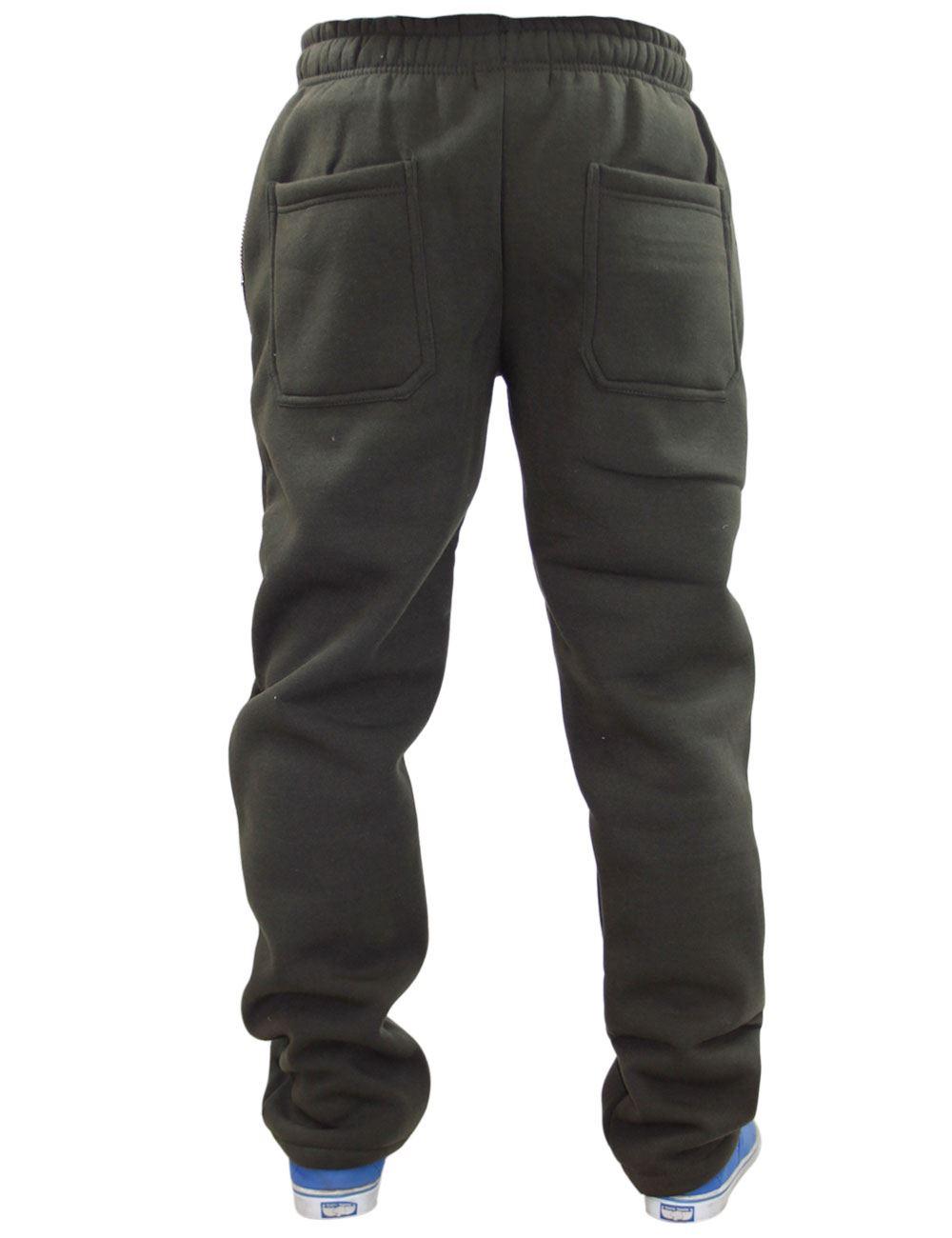 Mens-Women-Plain-Fleece-Joggers-Bottoms-Jogging-Pant-Gym-Fitness-Sports-Trousers thumbnail 9