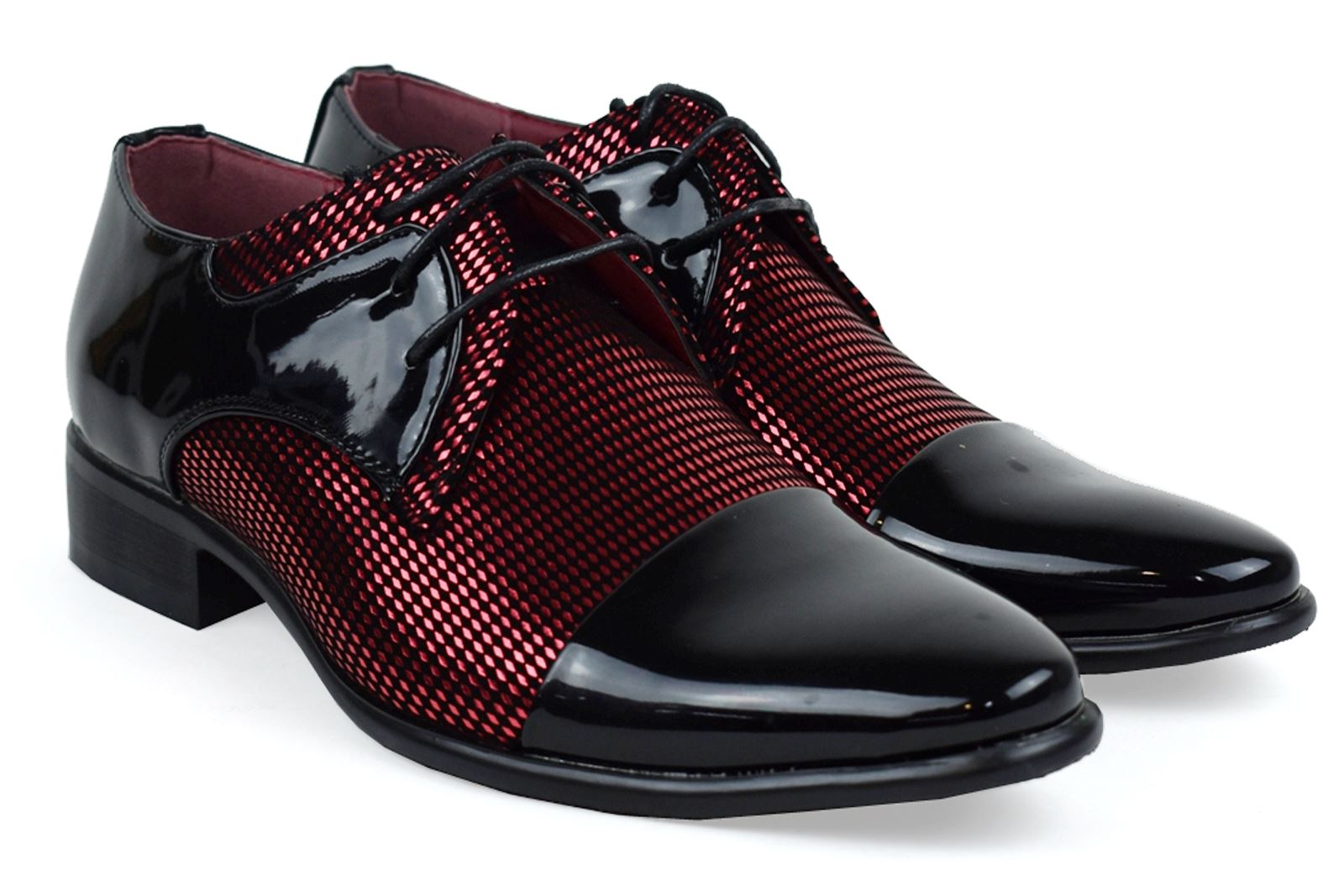 Mens-UK-Style-Leather-Lining-Formal-Office-Wedding-Smart-Work-Brogue-Shoes thumbnail 82