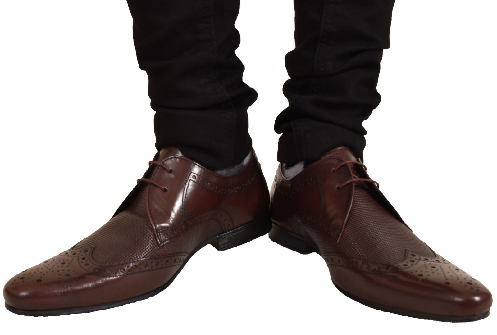Mens-UK-Style-Leather-Lining-Formal-Office-Wedding-Smart-Work-Brogue-Shoes thumbnail 128