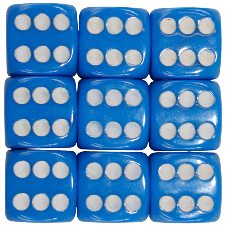 Nouveau-opaque-10-14-16mm-six-sided-spot-dice-D6-rpg-pour-ludo-monopoly-board-games miniature 100