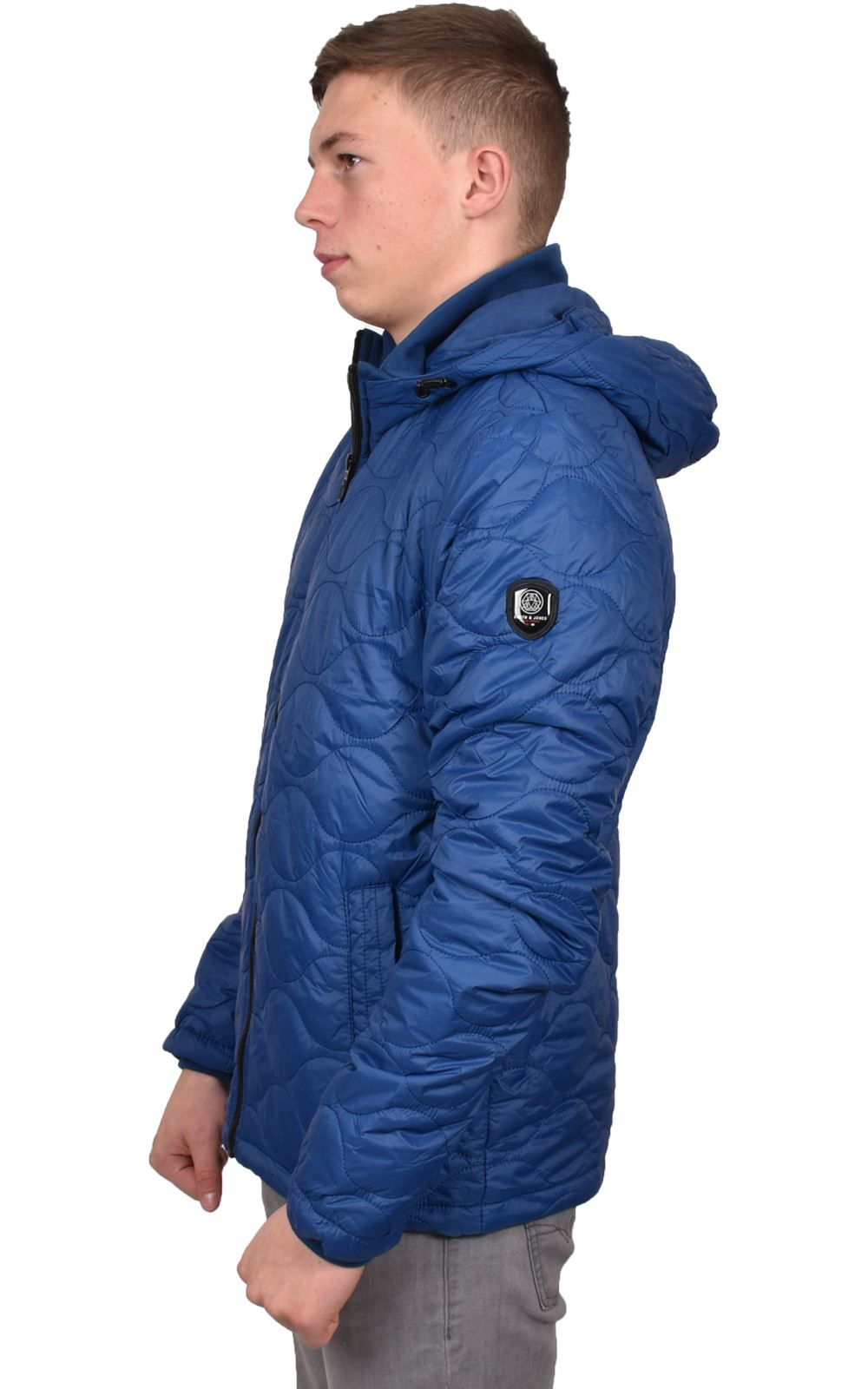 Mens-Smith-amp-Jones-Jacket-Full-Zip-Fleece-Lined-Hooded-Light-Weight-Warm-Coat thumbnail 10