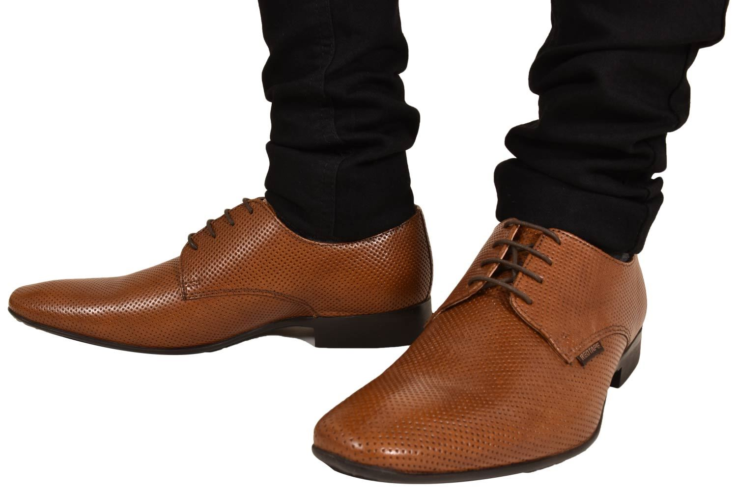 Mens-UK-Style-Leather-Lining-Formal-Office-Wedding-Smart-Work-Brogue-Shoes thumbnail 16