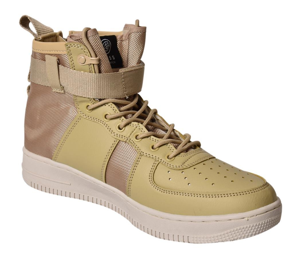 Mens-New-Crosshatch-Fleetfoot-Trainers-Hi-Top-Ankle-Boots-Lace-up-Comfy-Shoes thumbnail 16